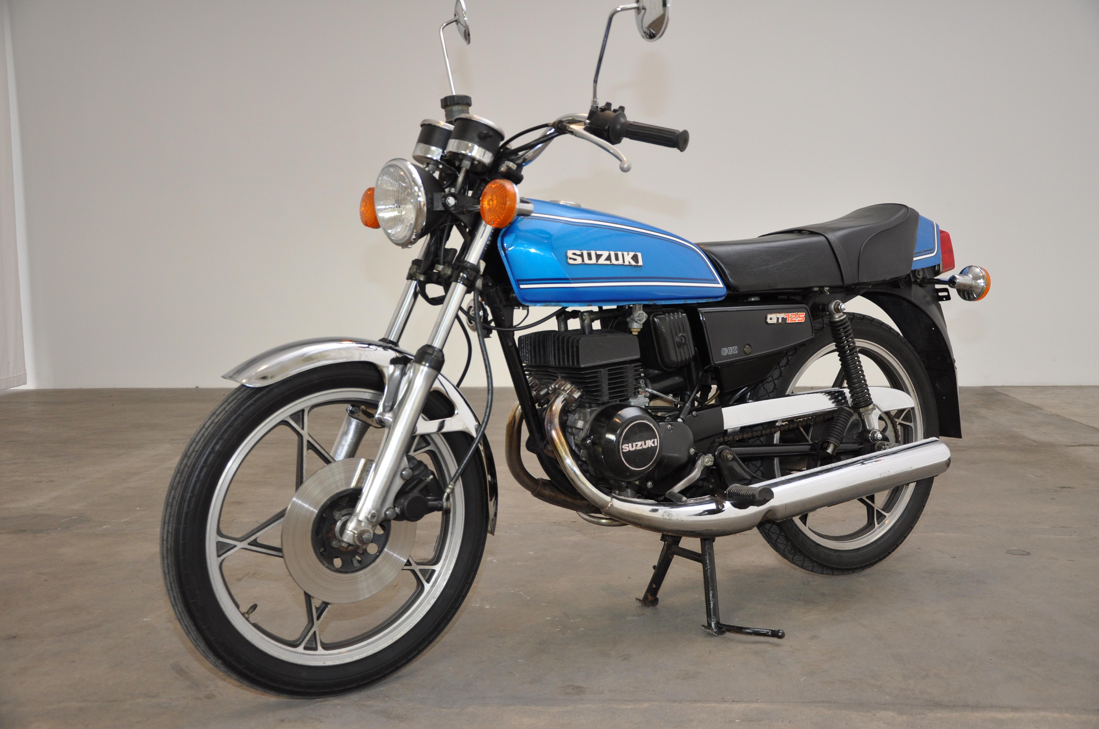 1979 Suzuki GT 125 | CLASSIC MOTOR SALES