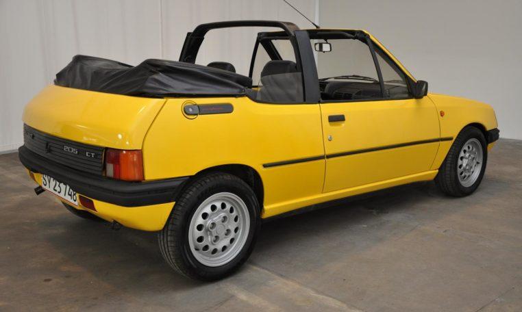 1986 Peugeot 205 Cti Cabriolet Classic Motor Sales