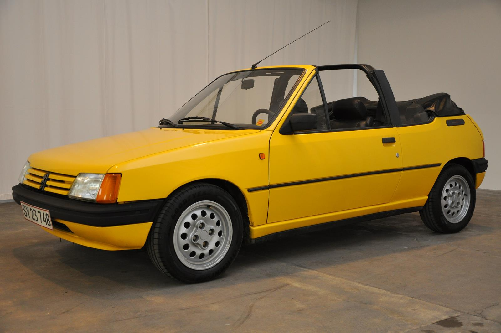 1986 peugeot 205 cti cabriolet classic motor sales. Black Bedroom Furniture Sets. Home Design Ideas