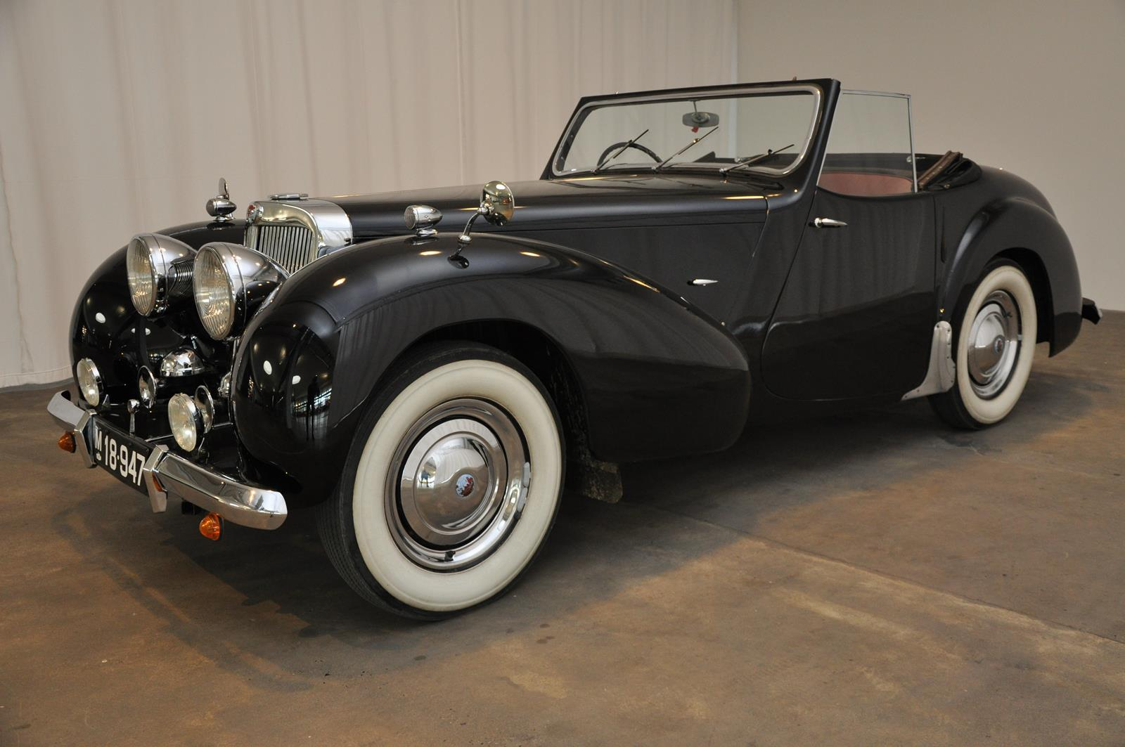 1947 Triumph 1800 Cabriolet Nyhed Classic Motor Sales