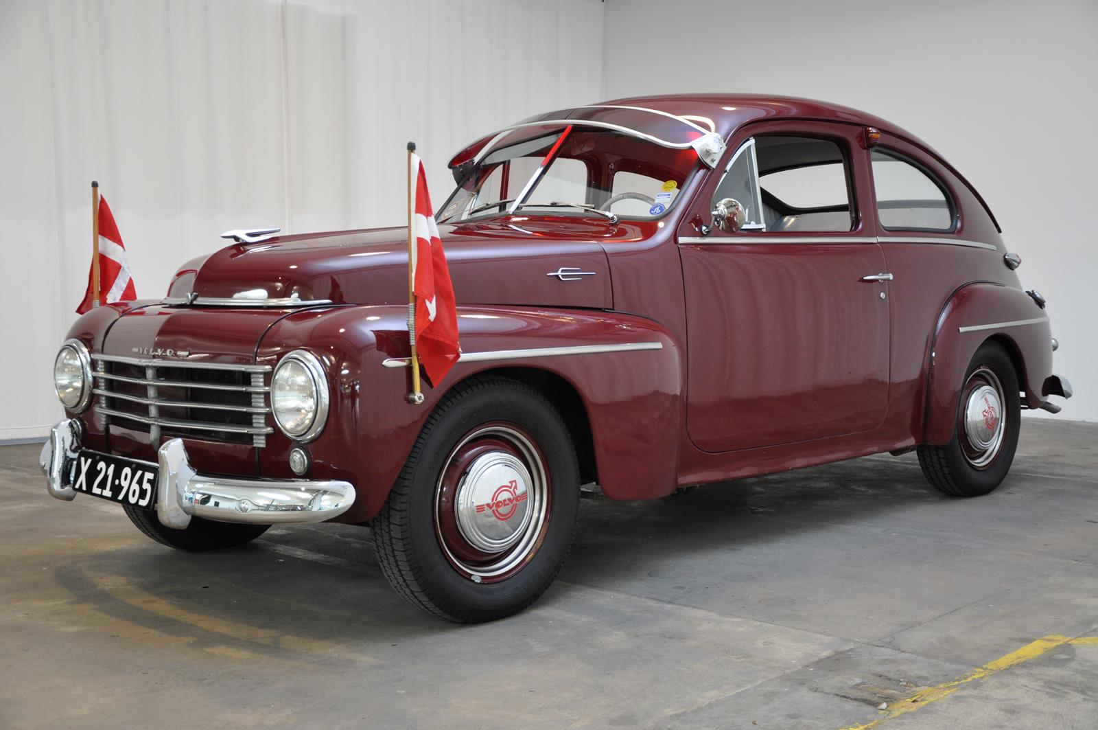 1955 Volvo Pv444 B4b Classic Motor Sales