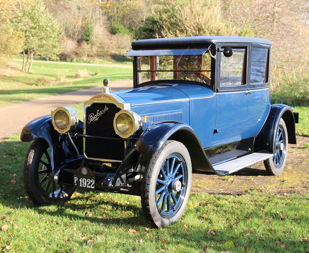1922 Packard Doctor Coupe Single Six